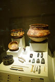 Prehistoric pottery Royalty Free Stock Photo