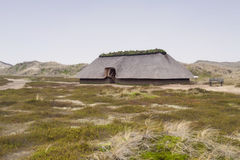 Prehistoric Reconstruction of a Stone Age House royalty free stock photos