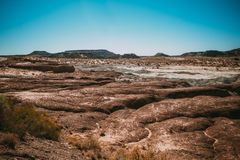 Free Prehistoric Rock Formations In Arizona`s Petrified Forest Nation Royalty Free Stock Images - 127218009