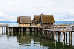 Prehistoric settlement Royalty Free Stock Photos