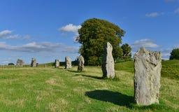 Prehistoric Standing Stones Stock Images