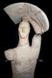 Prehistoric statue Royalty Free Stock Photos