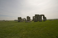 Prehistoric Stonehenge. Ancient monument of Salisbury England Royalty Free Stock Image