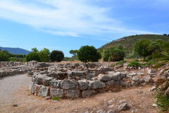 Prehistoric village Palmavera, Sardinia Stock Photography