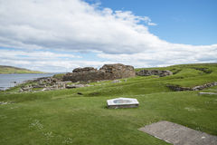 Prehistoric village Scotland. A prehistoric village in Scotland Royalty Free Stock Photo