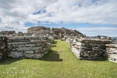 Prehistoric village Scotland. A prehistoric village in Scotland Stock Photos