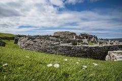 Prehistoric village Scotland. A prehistoric village in Scotland Royalty Free Stock Images