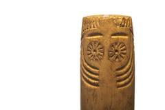 Prehistorical Eye idol Stock Image