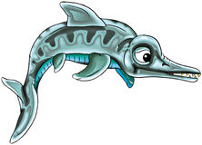 prehistoryczne ryb Fotografia Royalty Free