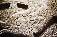 prehistoryczne ryb Obrazy Royalty Free
