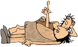 Prehistoryczni wróżbita Zdjęcia Stock