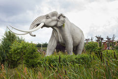 Prehistoryczny mamut Zdjęcia Royalty Free