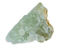 Prehnite mineral Imagem de Stock Royalty Free