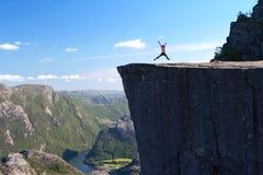 Preikestolen Στοκ εικόνα με δικαίωμα ελεύθερης χρήσης