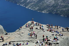 Preikestolen Stock Photos