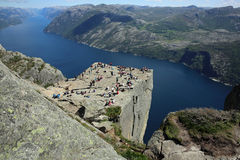 Preikestolen Royalty Free Stock Photo