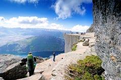 Preikestolen Lysefjord Royalty Free Stock Image
