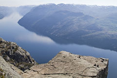 Preikestolen Stock Photography