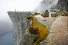 Preikestolen, Pulpit βράχος Στοκ εικόνες με δικαίωμα ελεύθερης χρήσης