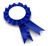 Preis des blauen Farbbands Stockbild