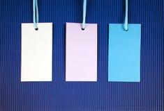 Preis oder Adressen-Etikett Lizenzfreie Stockbilder