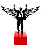 Preis und Flügel Lizenzfreies Stockfoto