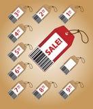 Preise mit Preisen Lizenzfreie Stockfotos