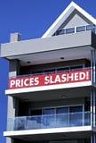 Preise zerschnitten Lizenzfreies Stockfoto