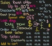 Preisskizze Lizenzfreies Stockfoto