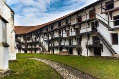 Prejmer堡垒,罗马尼亚 免版税库存照片