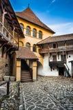 Prejmer堡垒,罗马尼亚 免版税库存图片