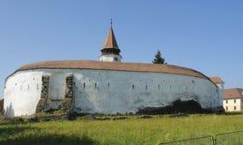 Prejmer堡垒在罗马尼亚 库存照片