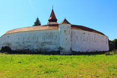 Prejmer Church. In Transylvania in Romania Royalty Free Stock Image