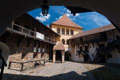 Prejmer fortificó la iglesia, Rumania Imagen de archivo