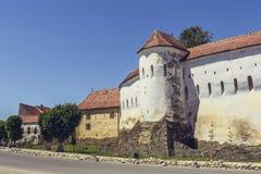 Prejmer fortificou a igreja, Roménia Imagem de Stock Royalty Free
