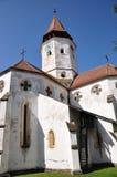 Prejmer Fortified Church. In Braqsov County, Romania royalty free stock image