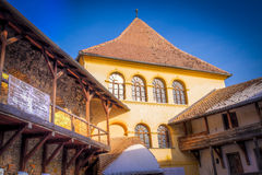 Prejmer Fortified Church - ( UNESCO World Heritage Site ). The largest fortified church in southeastern Europe, Prejmer Stock Photography