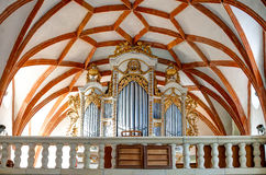 Prejmer Fortified Church Organ - ( UNESCO World Heritage Site ). The largest fortified church in southeastern Europe, Prejmer Stock Photography
