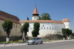 Prejmer fortified church Royalty Free Stock Images