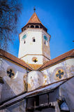 Prejmer Fortified Church - ( UNESCO World Heritage Site ). The largest fortified church in southeastern Europe, Prejmer Stock Image