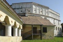 Prejmer fästning i Rumänien Royaltyfri Bild