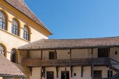 PREJMER, TRANSYLVANIA/ROMANIA - SEPTEMBER 20 : Exterior view For stock image