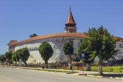 Prejmer-Wehrkirche, Rumänien stockbild