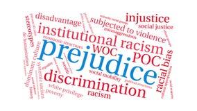 Prejudice Word Cloud