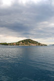 preko νησιών Στοκ Φωτογραφία