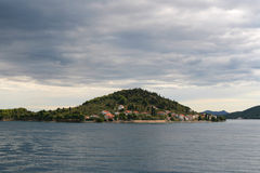 Preko island. Near the city of zadar, croatia Royalty Free Stock Photos