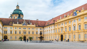 Prelate court of Melk Abbey, Austria Royalty Free Stock Photography
