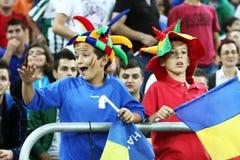 Preliminares de la taza de mundo 2014: Rumania-Andorra Imagen de archivo