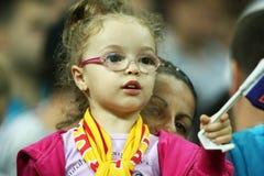 Preliminares de la taza de mundo 2014: Rumania-Andorra Fotos de archivo
