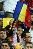 Preliminares de la taza de mundo 2014: Rumania-Andorra Imágenes de archivo libres de regalías